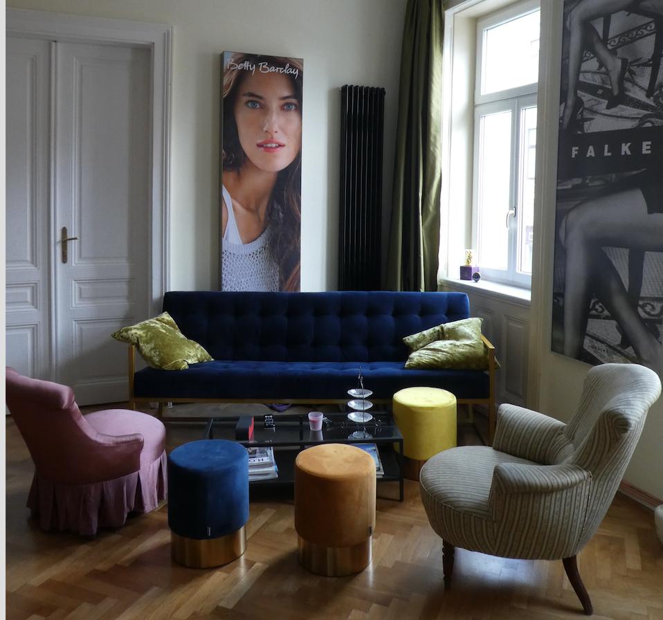 Wohnzimmer Altbau